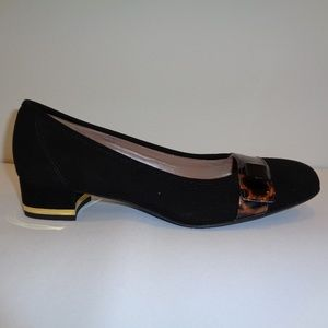 Sesto Meucci Size 8 N Narrow DARLINE Black Heels